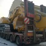 Перевозка экскаватора Liugong CLG936D Новокузнецк - Челябинск